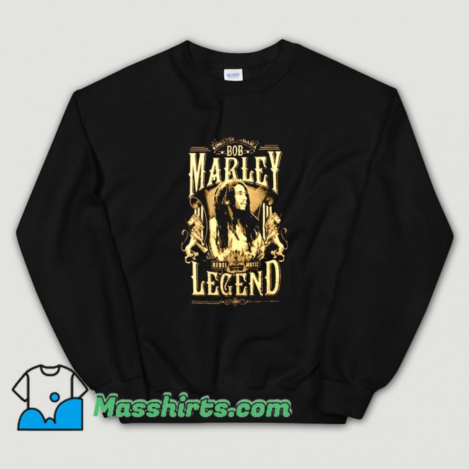 Bob Marley Rond Rebel Legend Sweatshirt