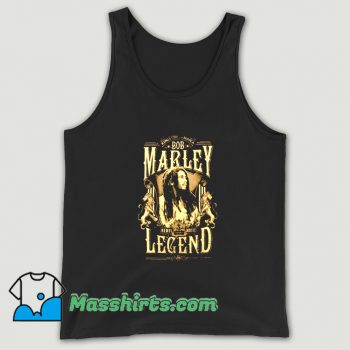 Bob Marley Rond Rebel Legend Tank Top