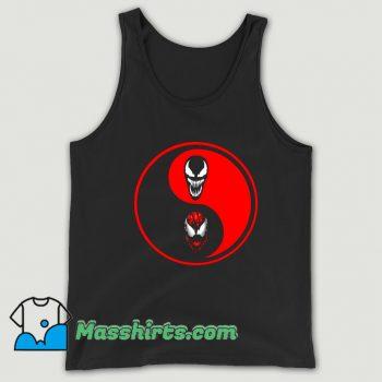 Cool Carnage Venom Ying Yang Tank Top