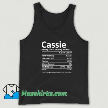 Cassie Serving Amazing Woman Tank Top