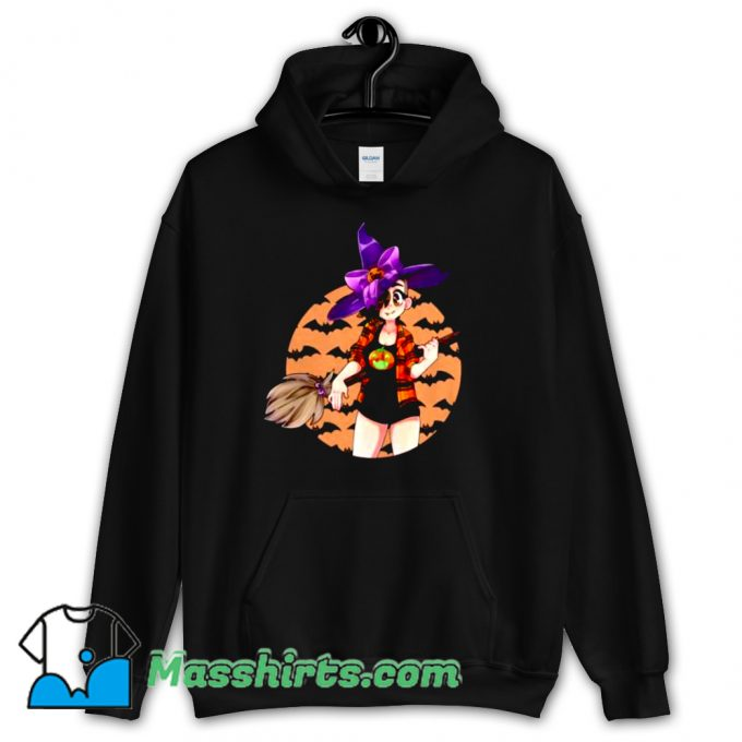 Cassie Witch Happy Halloween Hoodie Streetwear