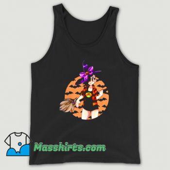 Vintage Cassie Witch Happy Halloween Tank Top