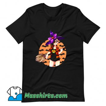 Cassie Witch Happy Halloween T Shirt Design