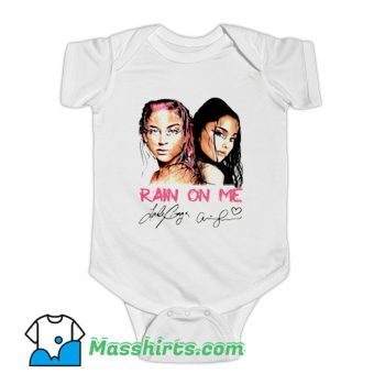 Cover Rain On Me Signature Baby Onesie