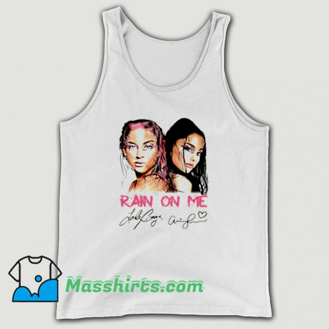 Cover Rain On Me Signature Tank Top