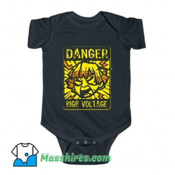 Danger Demon Anime Lighting Slay Baby Onesie