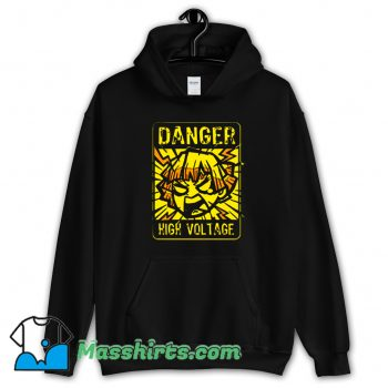 Danger Demon Anime Lighting Slay Hoodie Streetwear