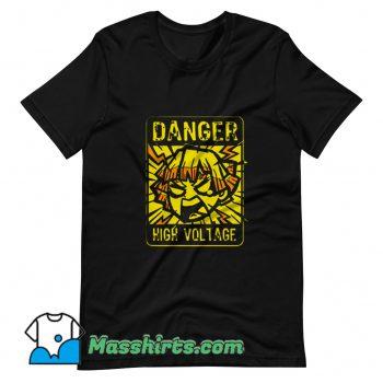 Funny Danger Demon Anime Lighting Slay T Shirt Design