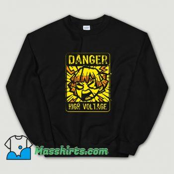 Danger Demon Anime Lighting Slay Sweatshirt