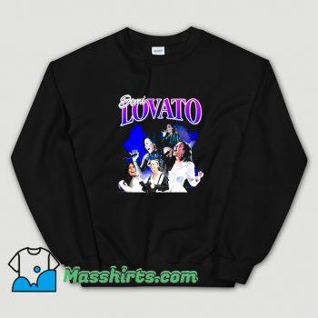 Funny Demi Lovato American Singer Sweatshirt