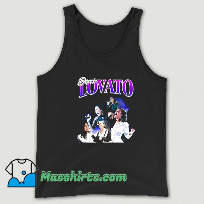 Awesome Demi Lovato American Singer Tank Top