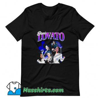 Demi Lovato American Singer T Shirt Design
