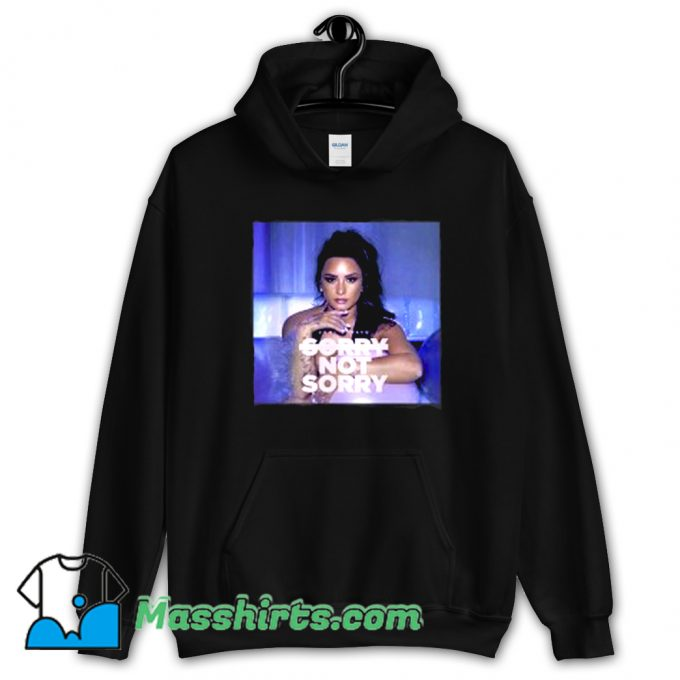 Demi Lovato Sorry Not Sorry Music Hoodie Streetwear
