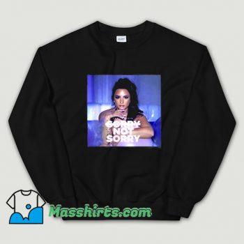Demi Lovato Sorry Not Sorry Music Sweatshirt