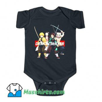 Demon Slayer Kimetsu Anime Merch Baby Onesie
