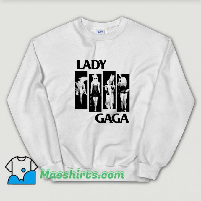 Cheap Flag Parody Lady Gaga Sweatshirt