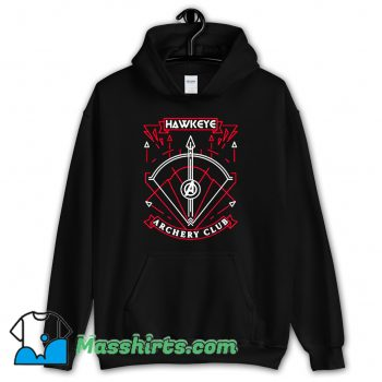 Avengers Hawkeye Archery Club Hoodie Streetwear