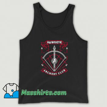 Awesome Avengers Hawkeye Archery Club Tank Top