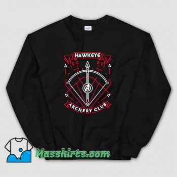 Avengers Hawkeye Archery Club Sweatshirt