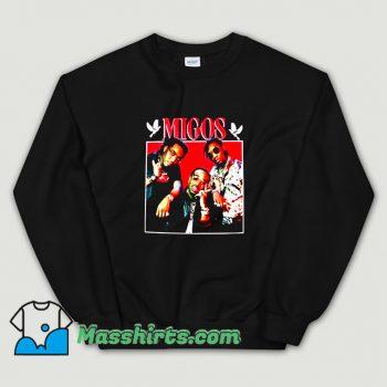 Classic Hip Hop Grub Photo Migos Sweatshirt
