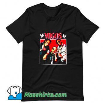 Hip Hop Grub Photo Migos T Shirt Design
