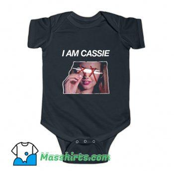 I Am Cassie Baby Onesie