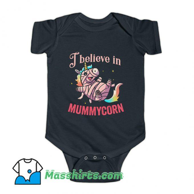 I Believe In Mummycorn Baby Onesie