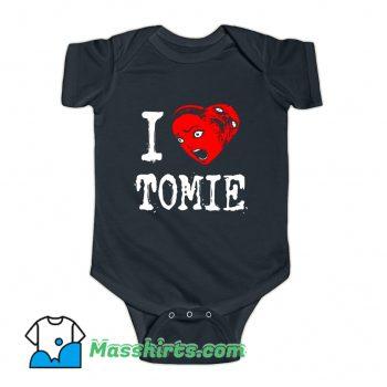I Heart Tomie Love Baby Onesie