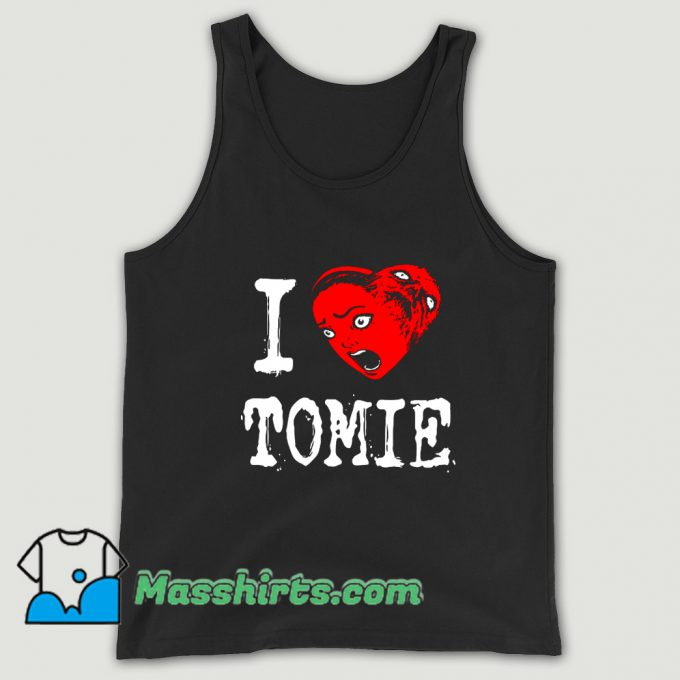 Anime Tomie I Heart Love Tank Top