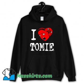 Cool I Heart Tomie Love Hoodie Streetwear