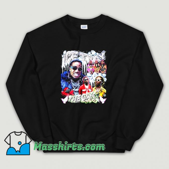 Cool Ice Tray Migos Music Hip Hop Sweatshirt