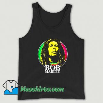 Jamaican Singer Bob Marley Tank Top