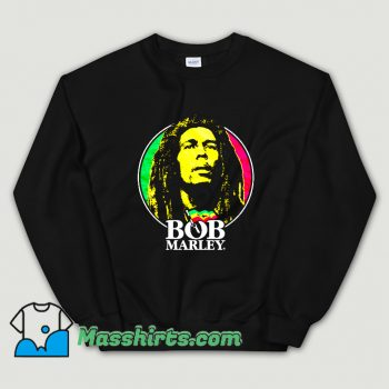 Vintage Jamaican Singer Bob Marley Sweatshirt