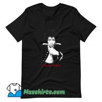 Vintage Jimi Hendrix American Musician T Shirt Design