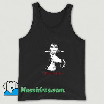 Funny Jimi Hendrix American Musician Tank Top