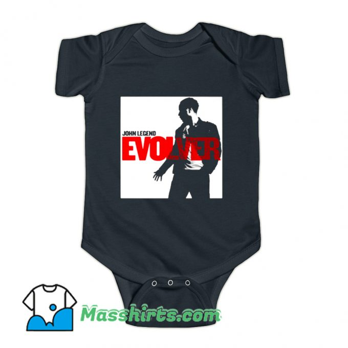 John Legend Evolver Album Baby Onesie