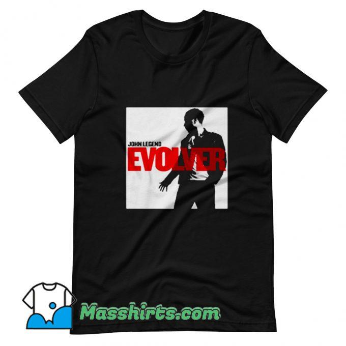 John Legend Evolver Album T Shirt Design