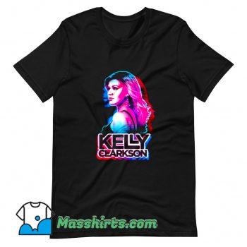 Kelly Clarkson American Singer T Shirt Design