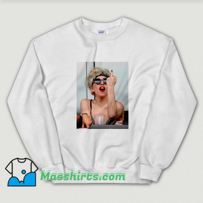 Lady Gaga Fuck You Sweatshirt