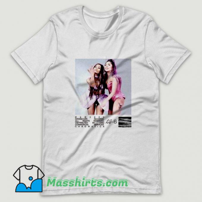 Classic Lady Gaga Rain On Me Music T Shirt Design