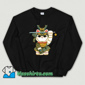 Original Lucky Cat Samurai Sweatshirt