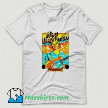 Cool Mac DeMarco Concert Poster T Shirt Design
