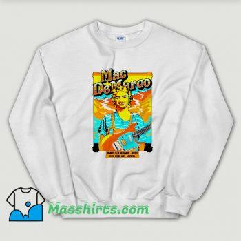 Mac DeMarco Concert Poster Sweatshirt