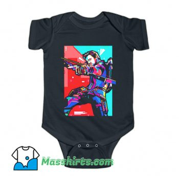 Marvel Hero The Avengers Baby Onesie