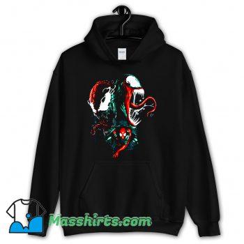 Cool Marvel Spider Man Venom Hoodie Streetwear