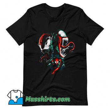 Classic Marvel Spider Man Venom T Shirt Design