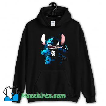 Marvel Superhero Venom Stitch Hoodie Streetwear