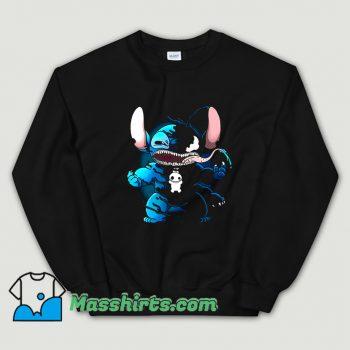 Funny Marvel Superhero Venom Stitch Sweatshirt