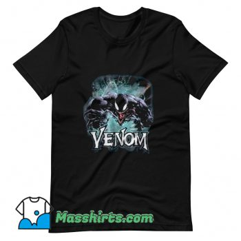 Marvel Venom From Down Under Face To Face T Shirt Design