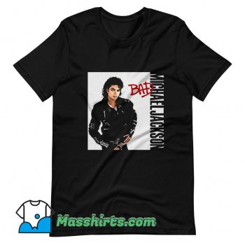 Vintage Michael Jackson Bad Singer T Shirt Design